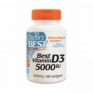 Doctors Best Vitamin D3 5000 IU 180 капс