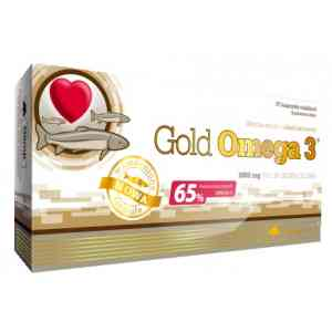 OLIMP Labs Gold Omega 3 65% 60 капсул