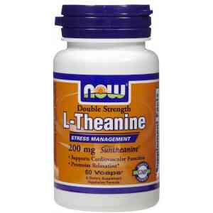 NOW L-Theanine 200 mg