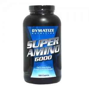 Dymatize Super Amino 6000 500 таб