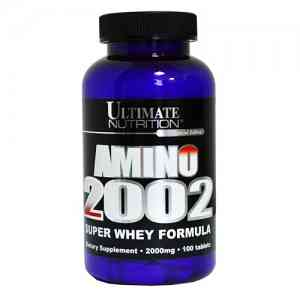 Ultimate Nutrition Amino 2002 100 таб