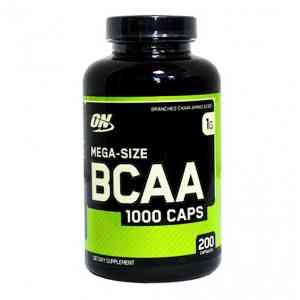 Optimum Nutrition BCAA 1000 Caps 200 капс