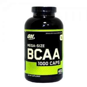 Optimum Nutrition BCAA 1000 Caps 400 капс