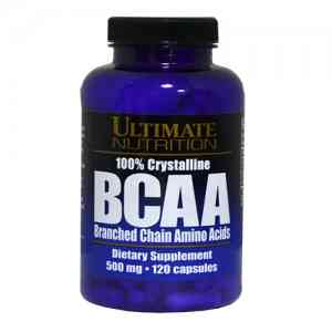 Ultimate Nutrition BCAA 500mg 120caps