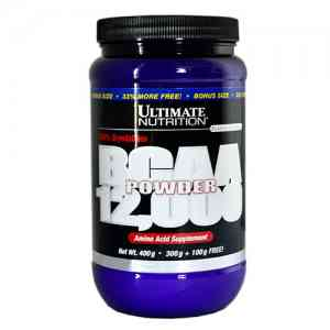 Ultimate Nutrition BCAA Powder 12000 400 г