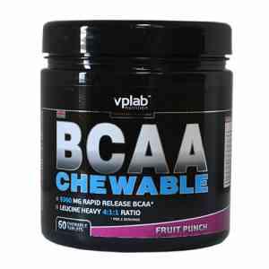 VPLAB BCAA chewable (жевательные)