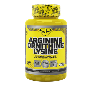 Steel Power Arginine Ornithine Lysine 120 капс.