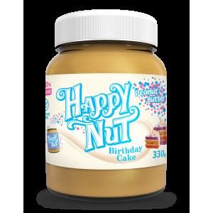 Happy Nut Арахисовая паста «Праздничный торт» 330 гр.