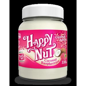Happy Nut Кокосовая паста с малиной 330 гр.