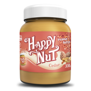 Happy Nut Кедровая паста с арахисом 330 гр.