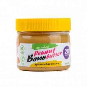 Bombbar Паста арахисовая 300 гр.