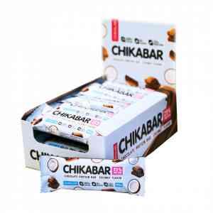 Bombbar Chikalab Протеиновый батончик в шоколаде 60г.