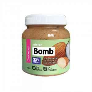 Bombbar Chikalab Миндальная паста с кокосом 250 гр.