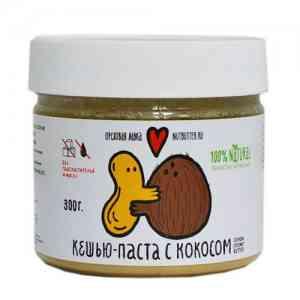 Nutbutter Кешью-паста с кокосом