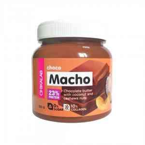Bombbar Chikalab Choco Macho шоколадная паста с кокосом и кешью 250 гр.
