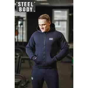 Steel Body Костюм темно-синий с начесом