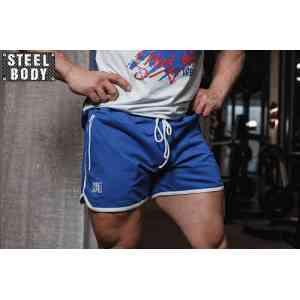 Steel Body Шорты синие с белой окантовкой мужские
