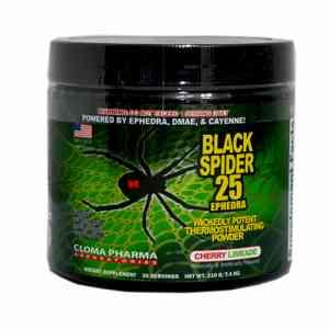 Cloma Pharma Black Spider Powder 210g