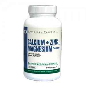 UN Calcium Zinc Magnesium