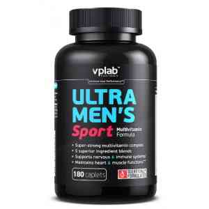 VPLAB Ultra Men's Sport Multivitamin Formulac 180 таб.