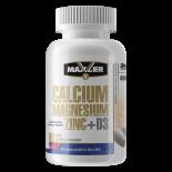 Maxler Calcium Zink Magnesium + D3 90 таб