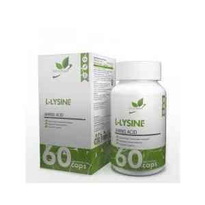 NaturalSupp L-Lysine 60 caps.